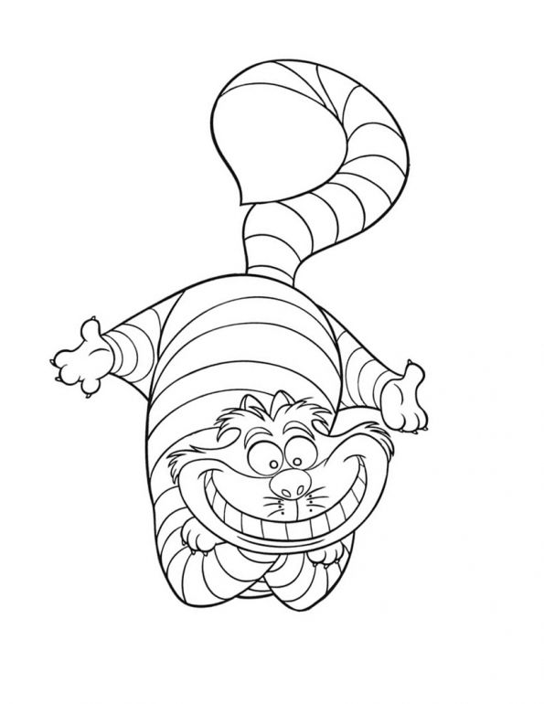 Classic Alice In Wonderland Coloring Pages | Alicia | Pinterest ...
