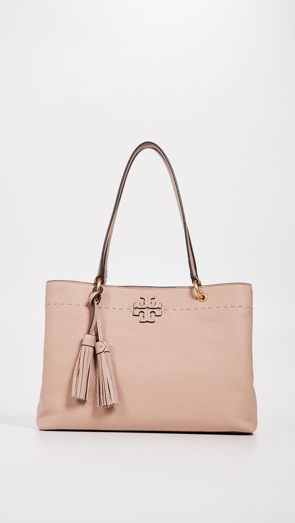 7b3c5c760bc Tory Burch Mcgraw Triple-Compartment Tote   Products   Tory burch ...