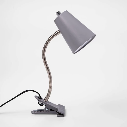 Led Clip Table Lamp With Cord Includes Energy Efficient Light
