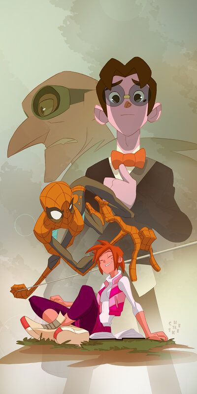 Spider-man, Spider-man... by cheeks-74 on @DeviantArt