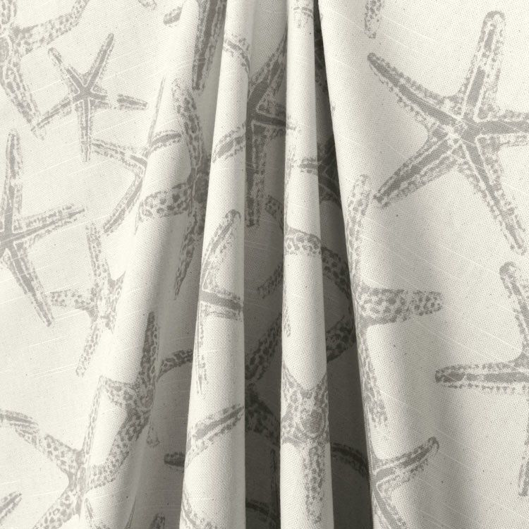 High Quality Winter Sale  20% Off Now  Grey Starfish Curtains, Grey And White Starfish