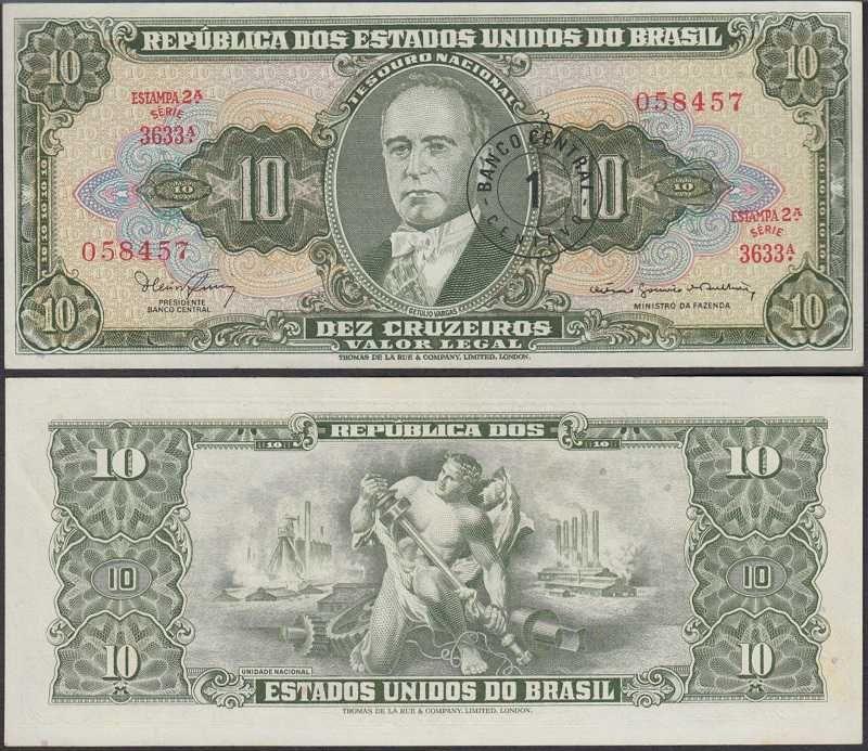 Brazil Banknote 1 Dollar New No Folds 1980 Money Brazil Things