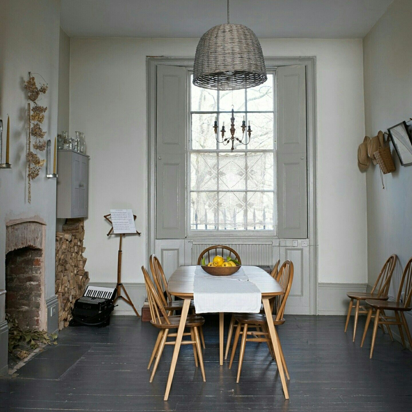 Working Vicarage In East London Vintage Ercol Table And Chairs