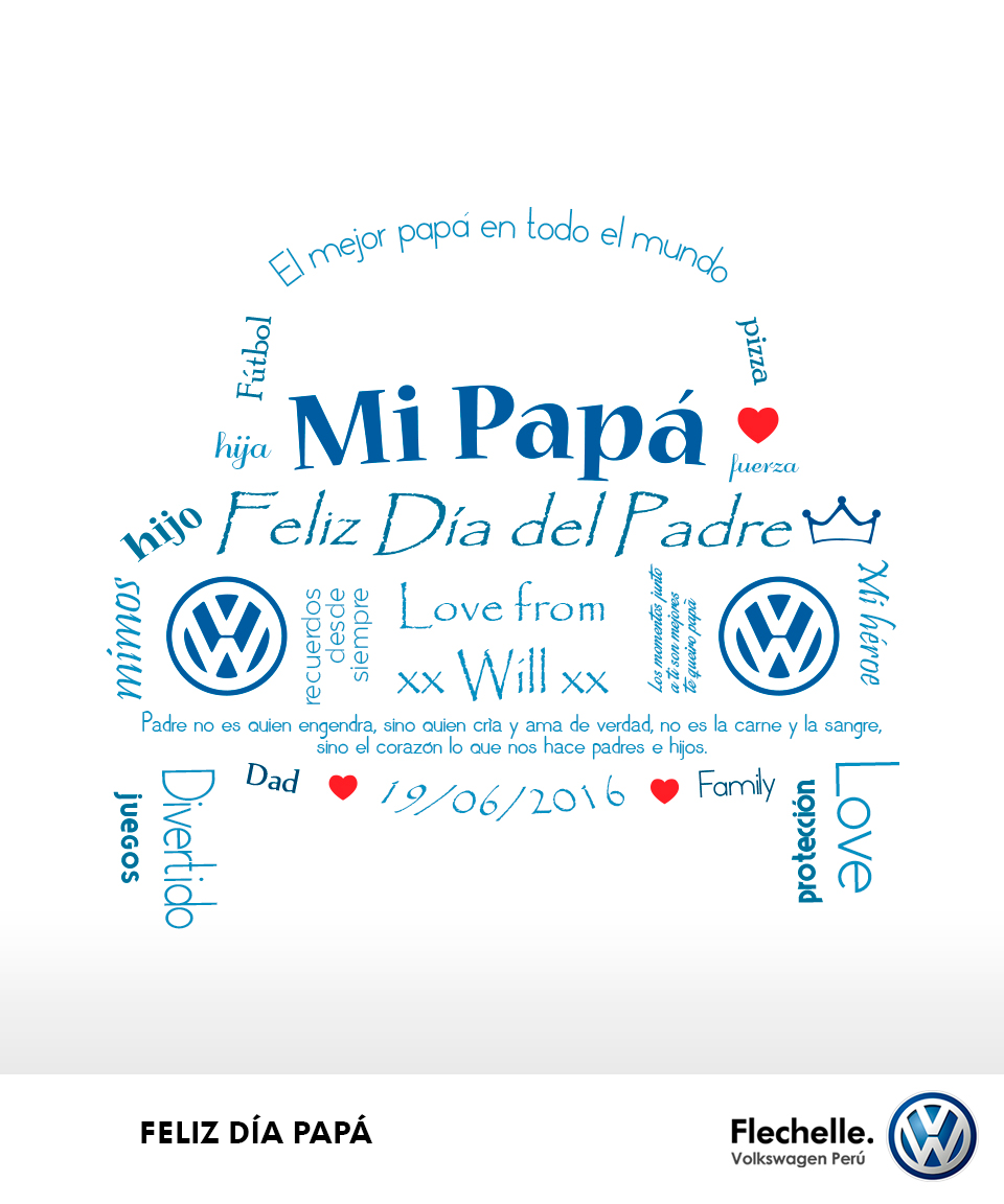 Volkswagen Stock Quote Interesting Feliz Día Del Padre Les Desea Flechelle Volkswagen Perú Día Del