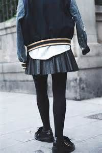 man in leather skirt cold