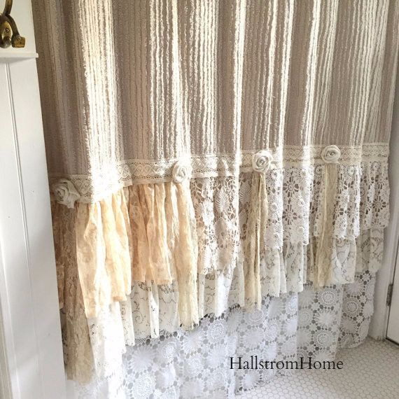 Love Lace In The Bedroom Bathroom Mixed In When Decorating Our