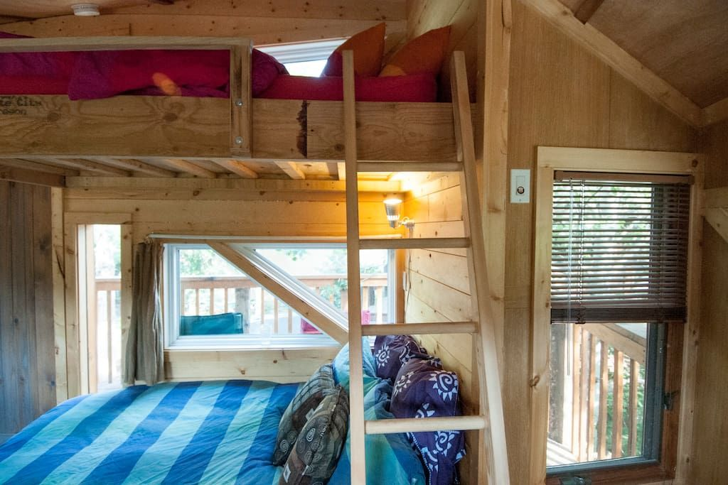 Check out this awesome listing on Airbnb: Cozy Heated Treehouse - Treehouses for Rent in Ketchum
