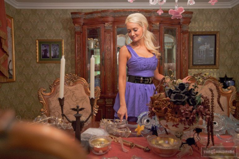 holly madison's house - pretty much all disney! through the