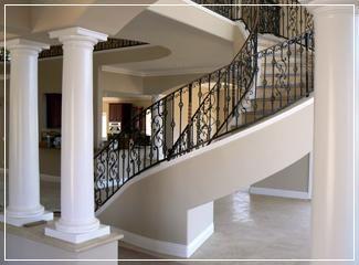 decorative wood columns and interior architectural column designs