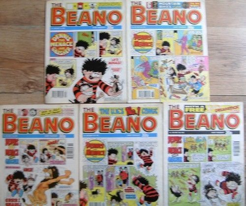 The Beano Comics Complete Month MAY 1993 - 1st - 8th - 15th - 22nd - 29th