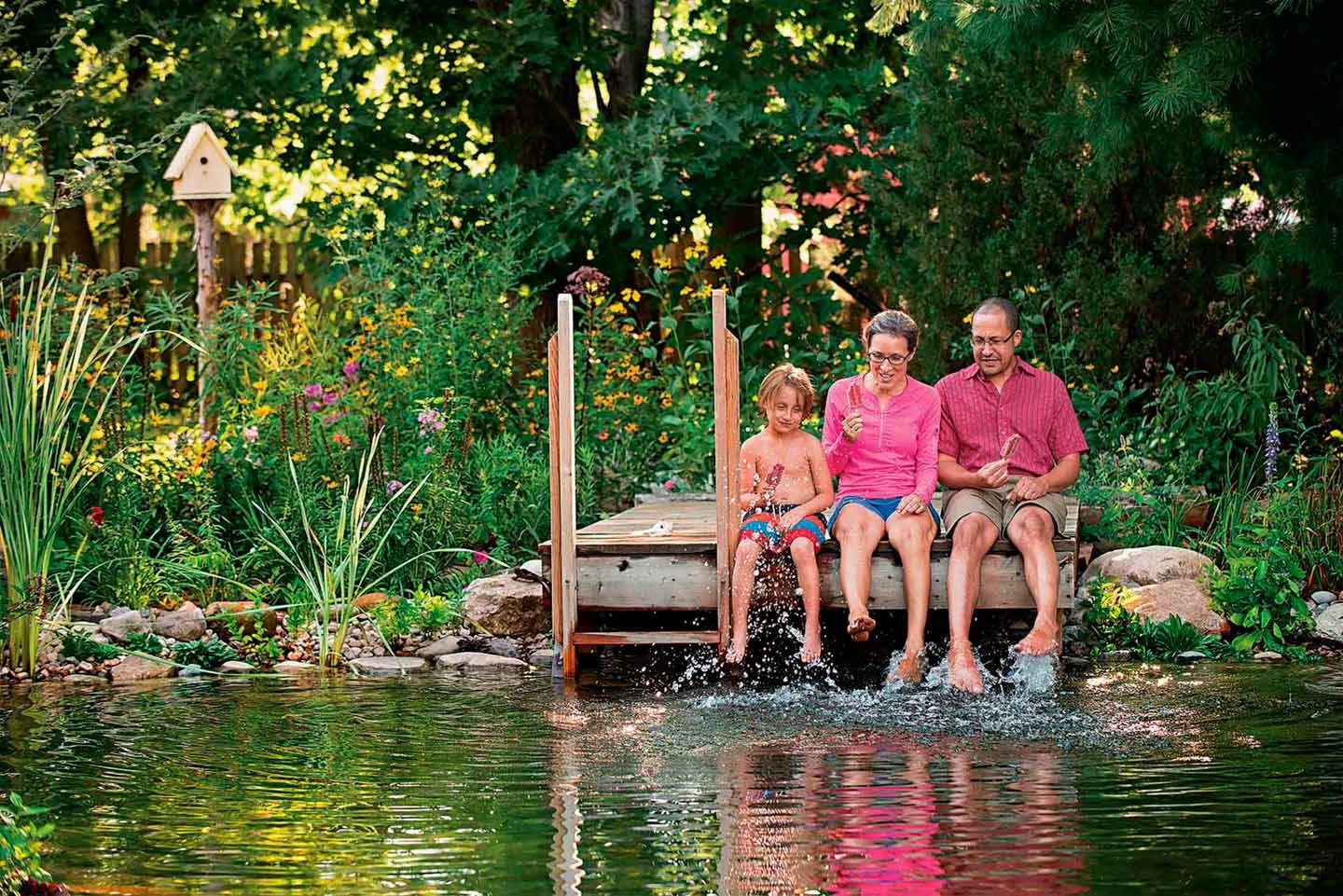 Super informative article about a Total Habitat Natural Swimming Pool/Pond in Connecticut. Visit TotalHabitat.Com for more info about how NSP's work and how to get one of your own!