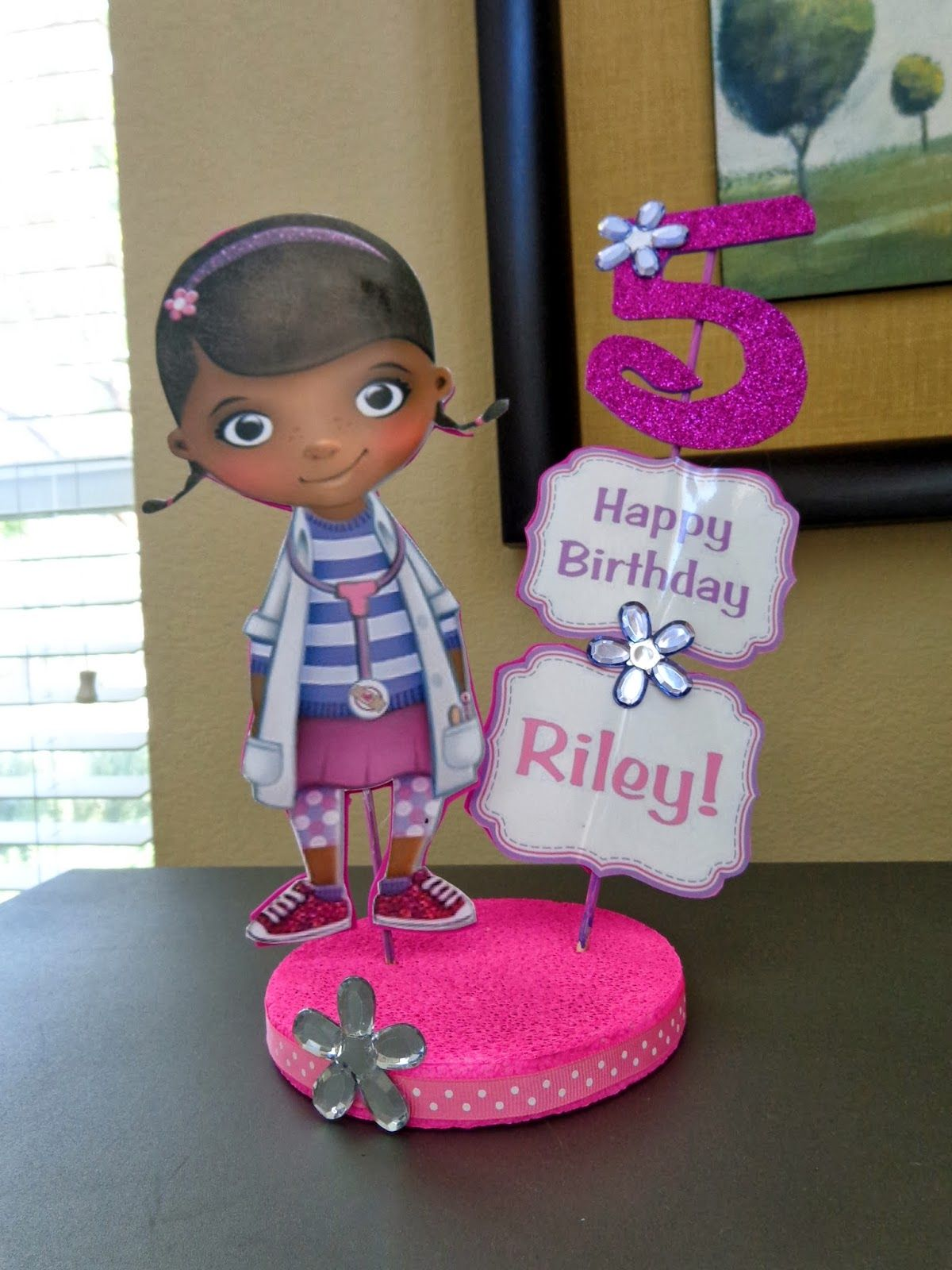 DIY for Mommies: Doc McStuffins Birthday Party | Dra juguetes ...
