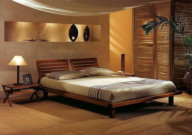 decoracin de dormitorios de estilo zen