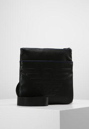 6b3e3f47844 Emporio Armani - PIATTINA GRANDE - Sac bandoulière - black ...
