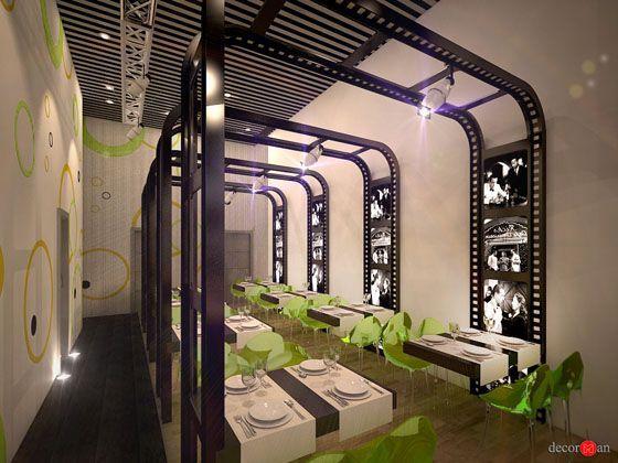 Zona de mesas con decoraci n a medida aleg rica a las for Curso de decoracion de interiores zona norte