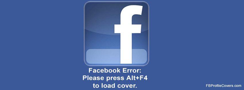 Facebook Prank Cover for Timeline Funny facebook cover