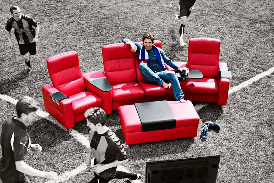 Personliches Heimkino Stressless Sofa Wave Home Cinemas Outdoor Furniture Sets Outdoor Furniture