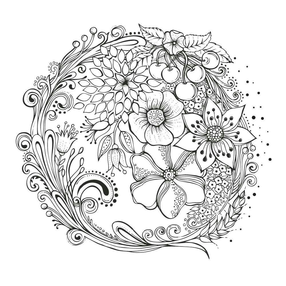 Pin Von Rita Lebron Auf Ausmalbilder Rita Berman Ausmalen Malvorlagen Blumen Muster Malvorlagen