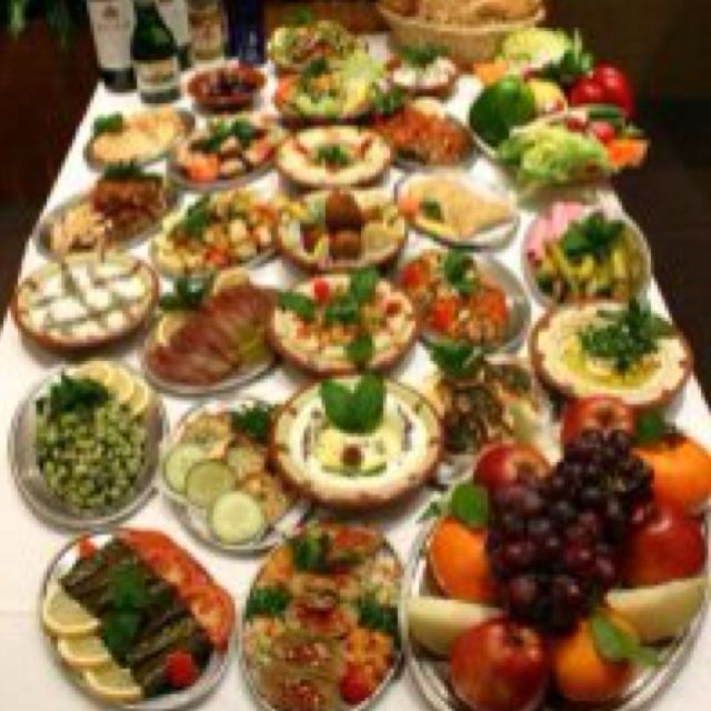 Lebanese breakfast enough for whole day favourite food for Arabic cuisine food