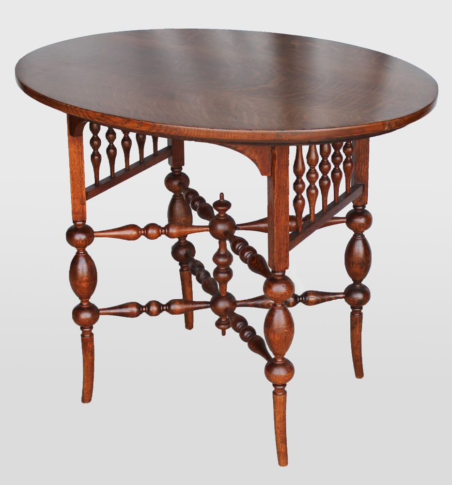Antique oak lamp table oval shaped fancy lamp table antique oak lamp table oval shaped fancy geotapseo Choice Image