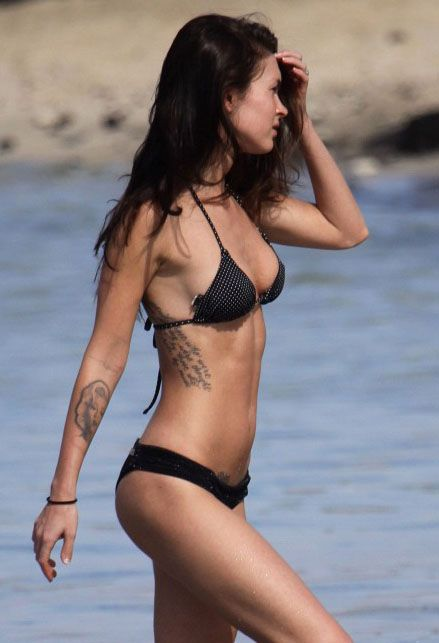 Megan Fox - Bikini & Tattoo's on sexy women.
