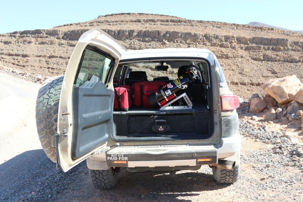 Happy Customer Showing Off His Overlanding Gear Fj Cruiser Toyota Fj Cruiser Fj Cruiser Accessories