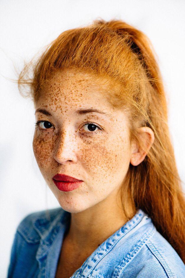 Redhead asian lesbian