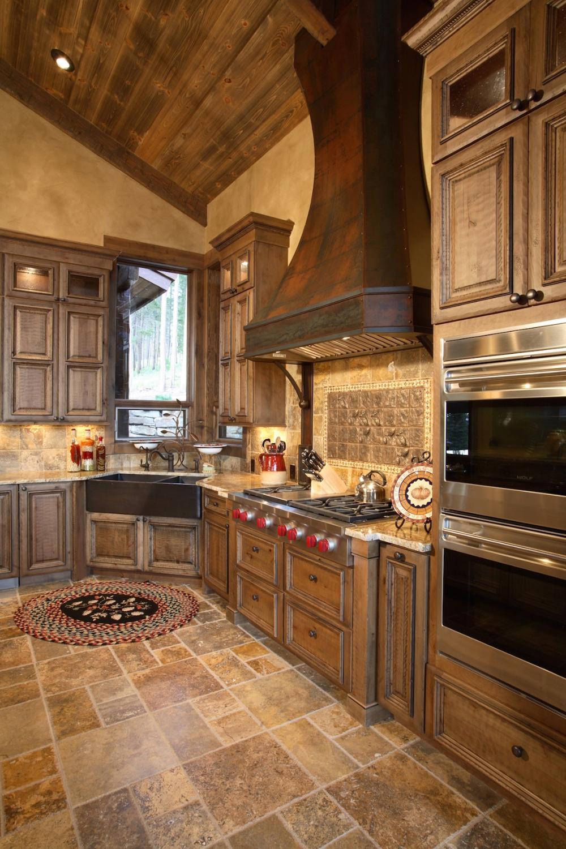 Kitchen Magazine Creative Reuse Raw Urth Designs Tuscan Floor Inspiration Rustic