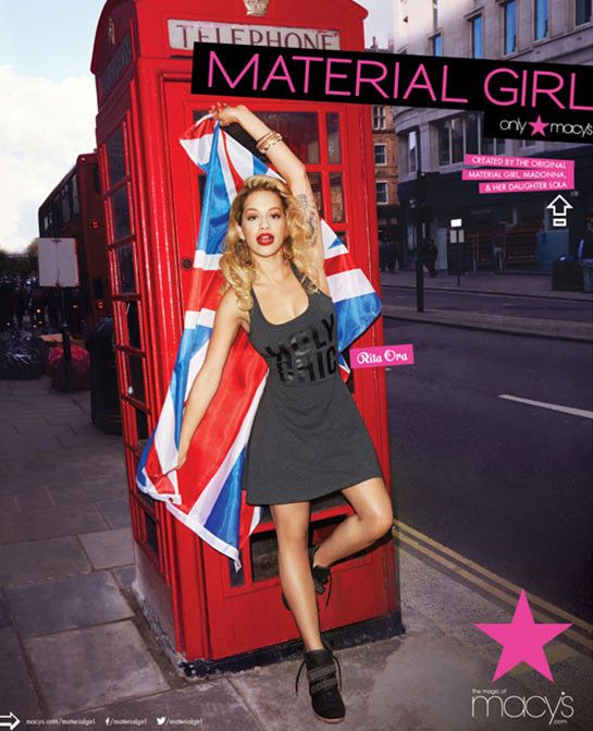 The Home Of Celebrity Fashion Music And Beauty Madonna Material