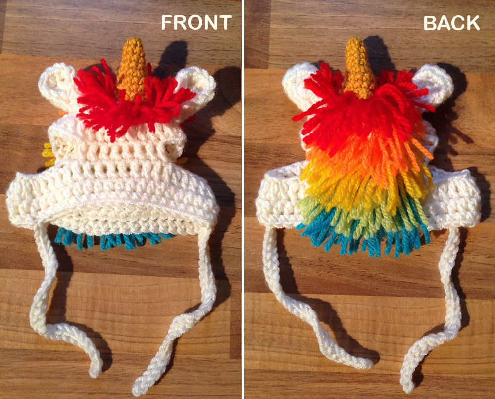 Crochet pattern pdf download cat or small dog unicorn beanie crochet pattern pdf download cat or small dog unicorn beanie hat with rainbow bankloansurffo Images