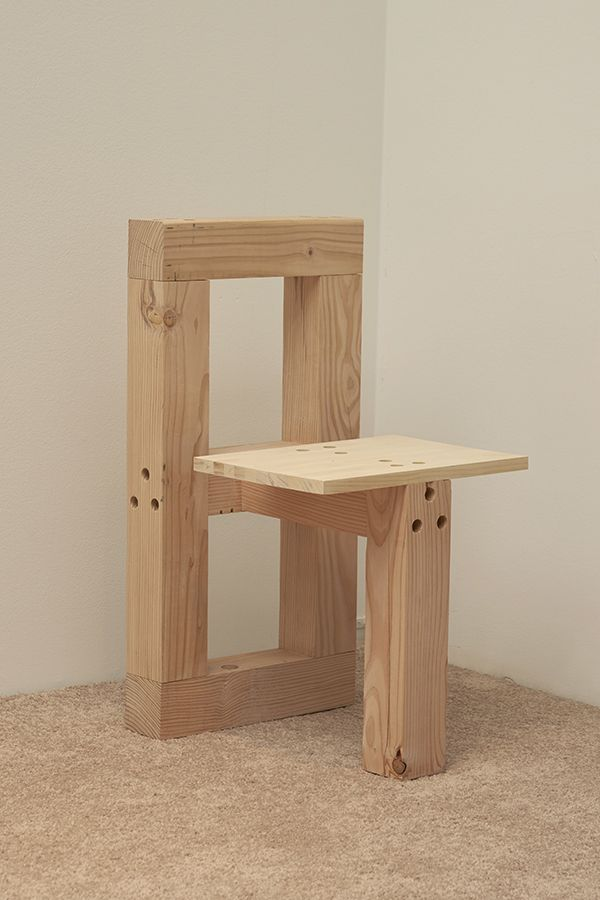 Zoom photo sillas sillas de madera planos de muebles for Sillones de madera reciclada