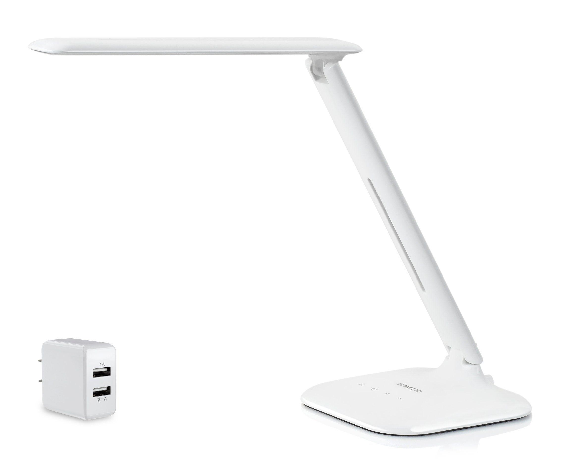 white itm book tablet desk lamp gooseneck holder stand adjustable light organizer