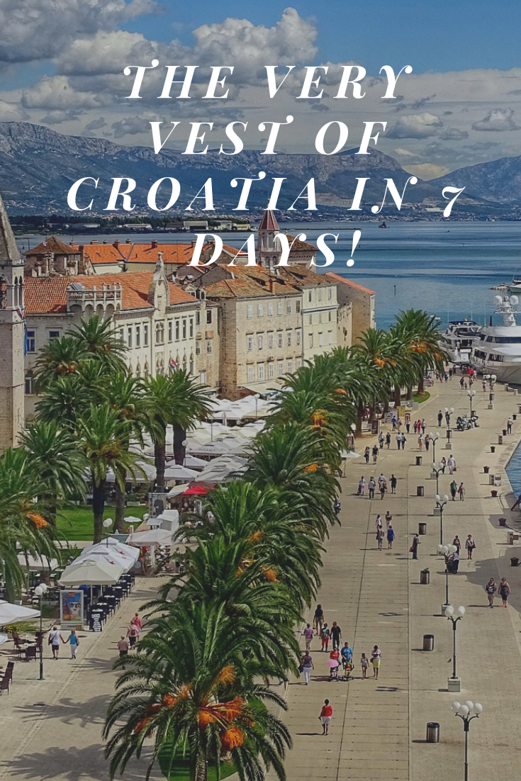 Croatia Is A Beautiful Balkan Country Located On The Adriatic Sea Visit Zagreb Split Hvar And Dubrovnik In Your 7 D Croatia Croatia Travel Perfect Itinerary