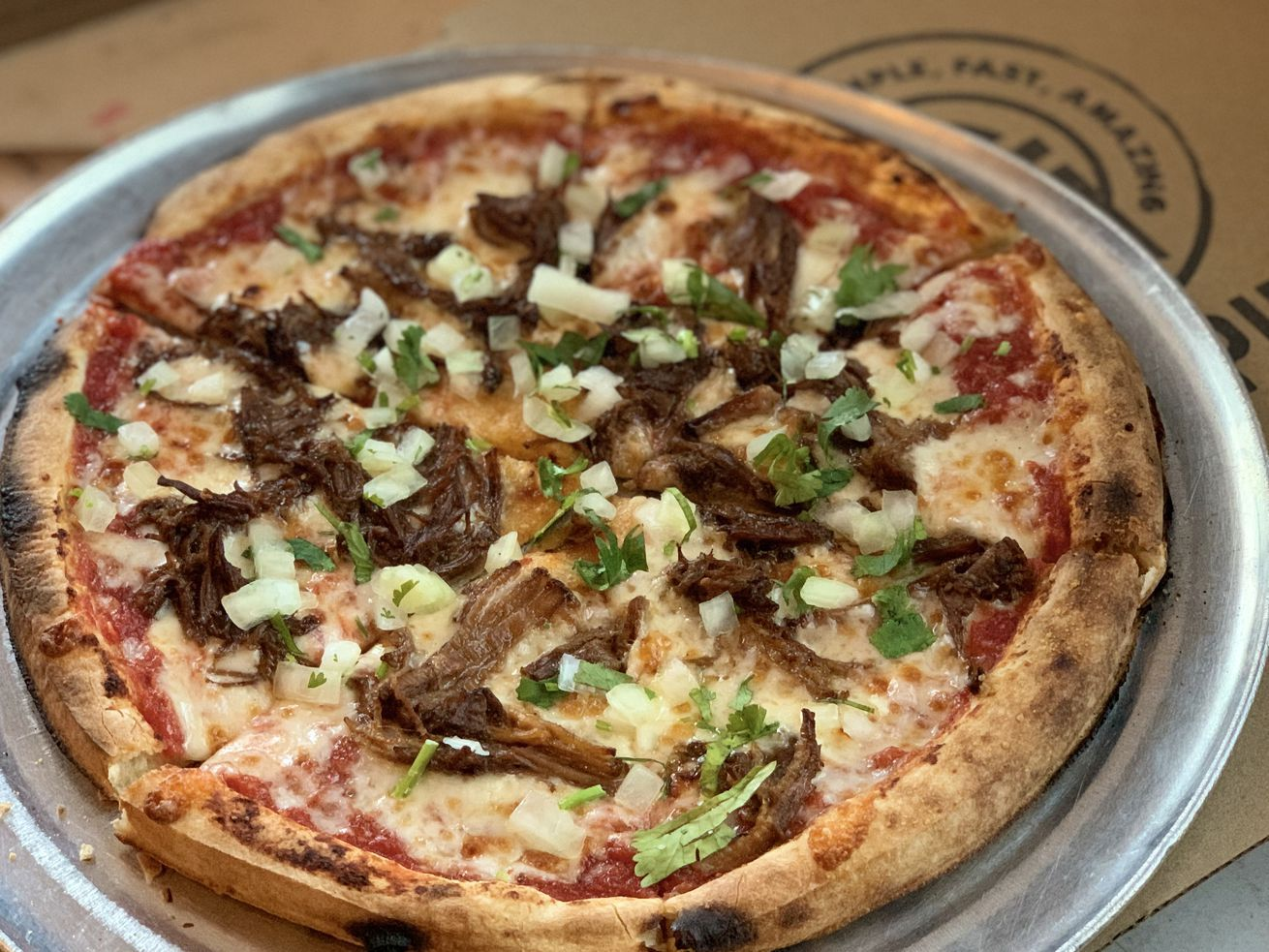 Now You Can Eat Your Birria On A Wood Fired Pizza Hispanic Food Pizza New Pizza