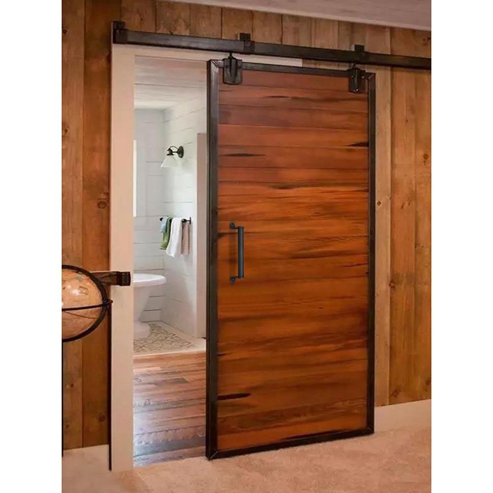 Thelashop 10 Sliding Barn Door Handle Gate Door Bar Pull Color Opt Barn Doors Sliding Barn Door Handles Wood Doors Interior