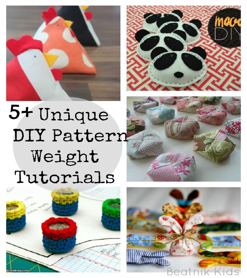 Creative Sewing Pattern Weights Pattern Weights Sewing Basics