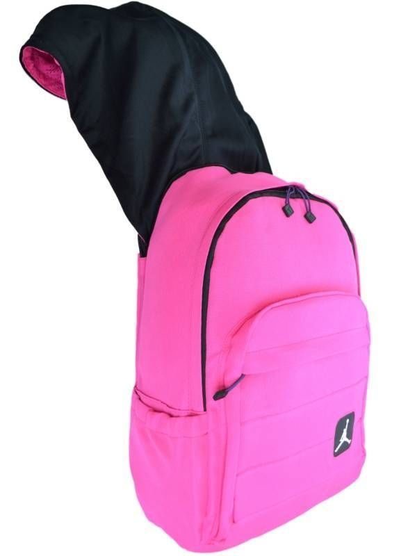 f6a38128d75 Nike Air Jordan Laptop Backpack Pink Hoodie Bag Women Girls School Book Bag  #Nike #Backpack #Pink #OrlandoTrend #Hoodie