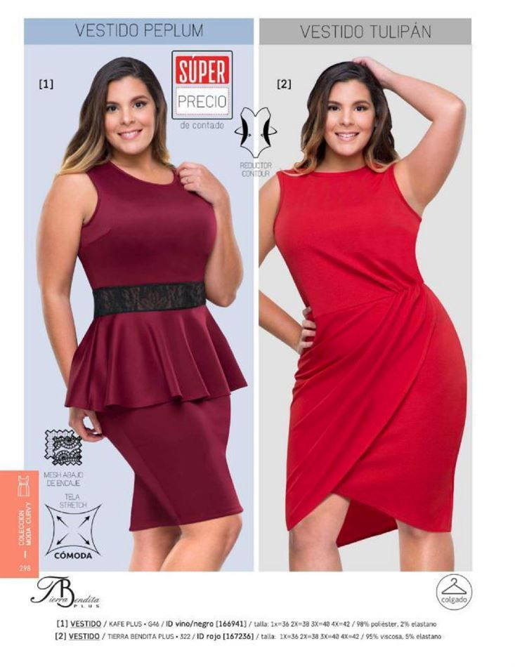 Catalogo de vestidos para gorditas