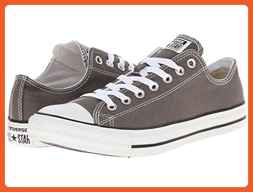 dd913d5e7dd74 Converse All-Star Chuck Taylor Lo-Top Sneakers (16 M US Mens, Grey ...