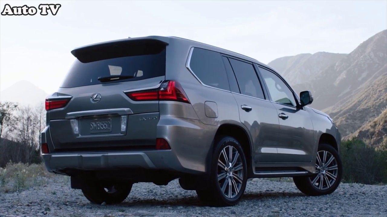 2018 Lexus LX 570 SUV Interior Review & Test Drive Suv
