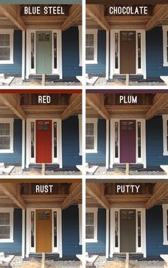 What Color Should I Paint My Front Door picking an exterior paint color | exterior paint colors, black