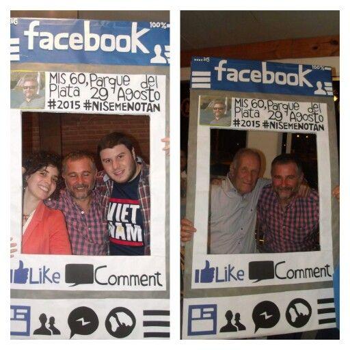 Marco de Fotos #facebook #60años #felizcumpleaños