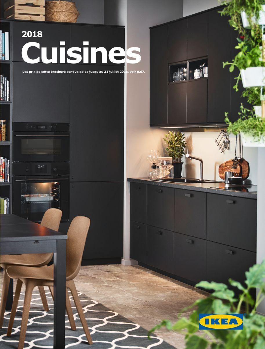 brochure cuisines ikea 2018 deco cuisinescuisines pinterest cuisine ikea ikea et cuisines. Black Bedroom Furniture Sets. Home Design Ideas