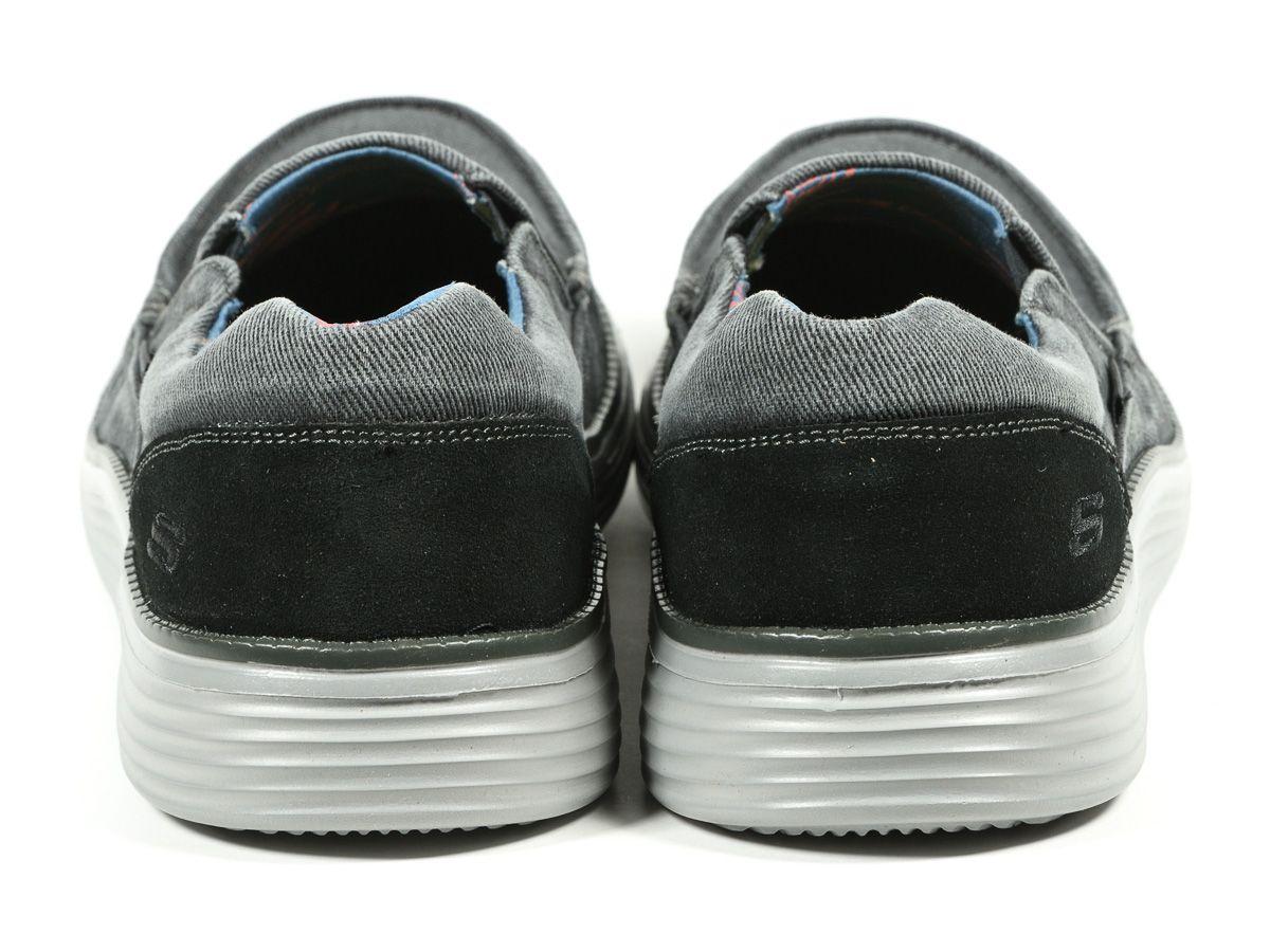Duze Rozmiary Polbuty Wsuwane Status 2 0 Mosent 66014 Blk Butyxl Pl Skechers Baby Shoes Shoes