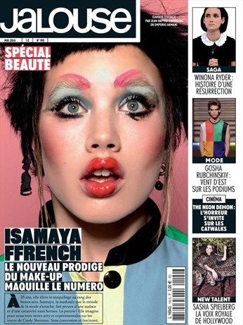 Isamaya Ffrench, le nouveau prodige du make-up - Jalouse - Numéro 190
