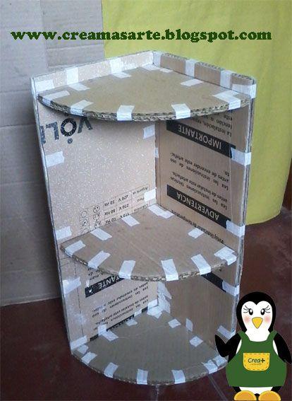Ltimamente estoy entusiasmada con el reciclaje de cart n for Idea de la habitacion de los padres