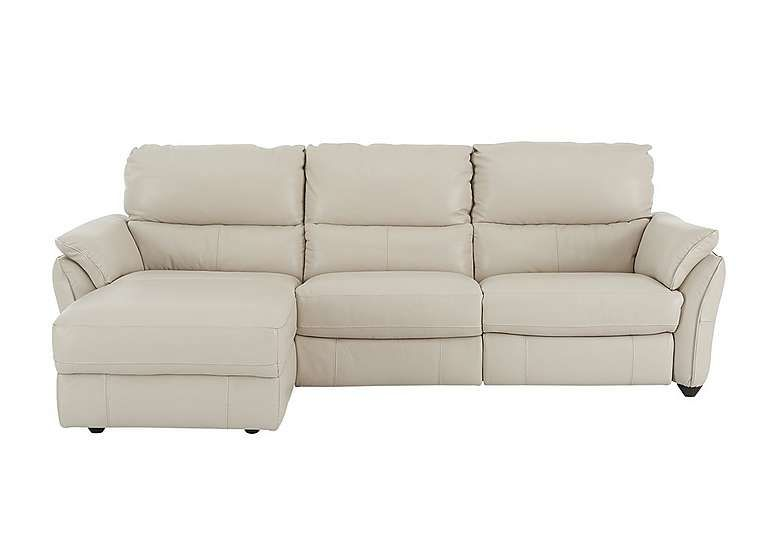 Great Salamander 3 Seater Leather Chaise Recliner Sofa