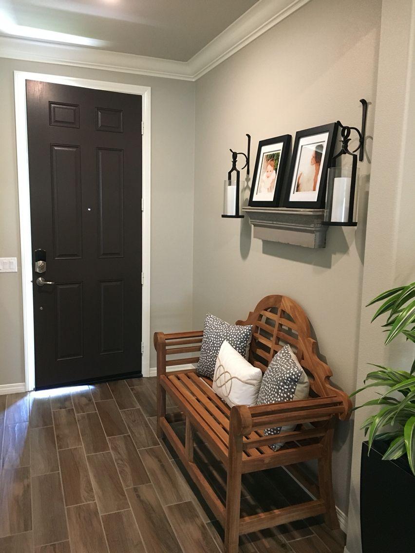 Loving Our Newly Painted Entryway Door Using Benjamin