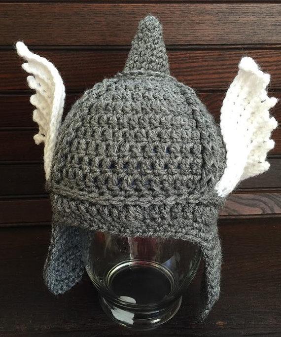 Crochet Thor Hat Super Hero hat Thor Hat Thor di HaniasCreations ...
