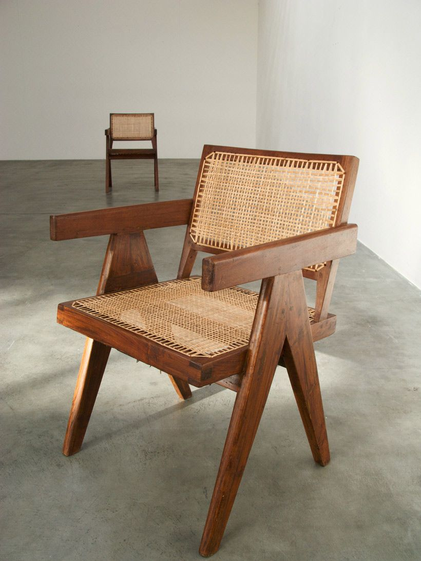 Pierre Jeanneret Armchair Chandigarh India